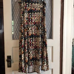 LuLaRoe maxi skirt large
